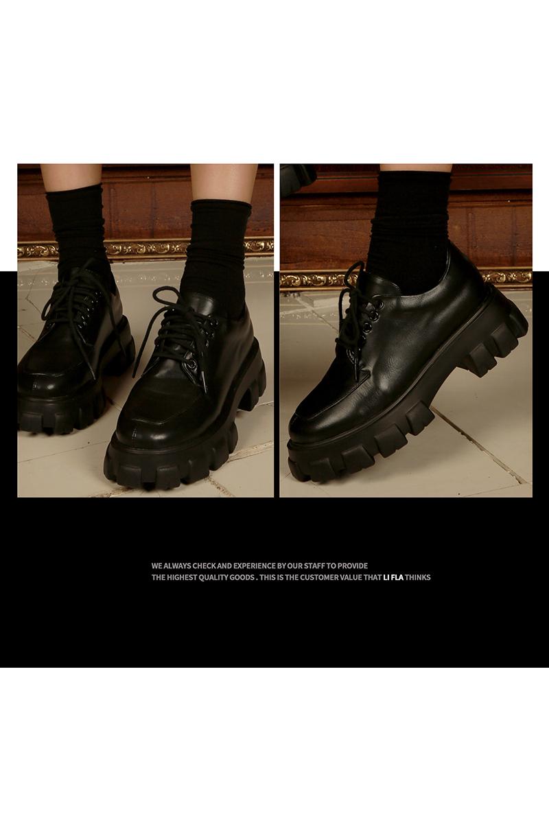 리플라(LI FLA) 19B503 black loafer